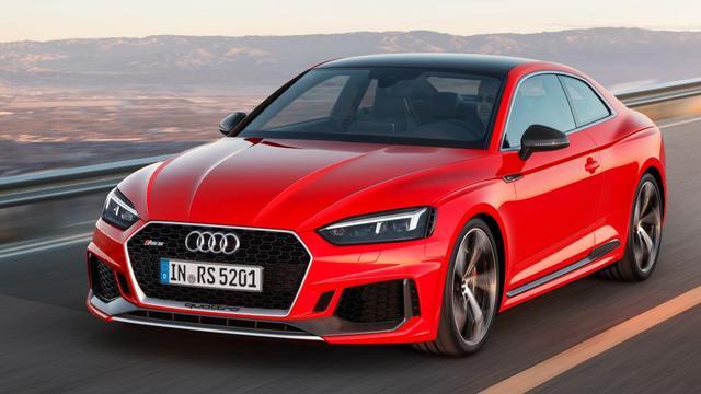 Audi laat RS5 Coupé zien op autobeurs in Genève