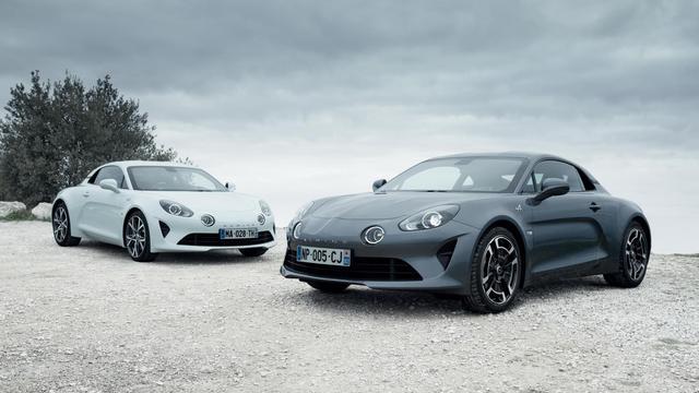 Alpine lanceert nieuwe A110-versies