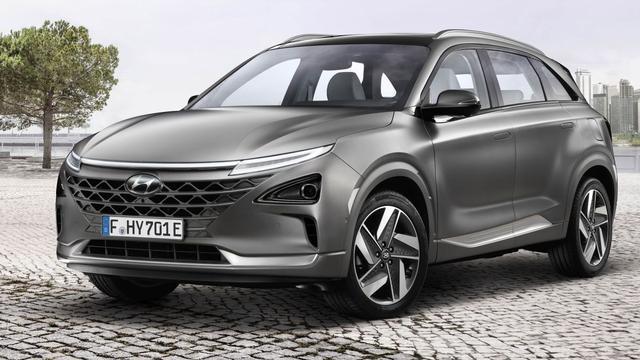 Waterstofauto Hyundai komt in juli
