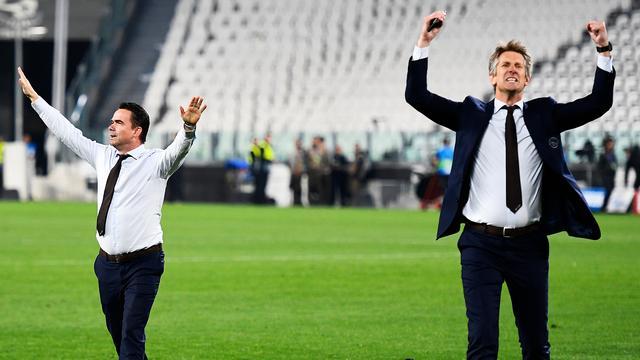 Juventus-voorzitter Agnelli prijst werk Van der Sar en Overmars bij Ajax