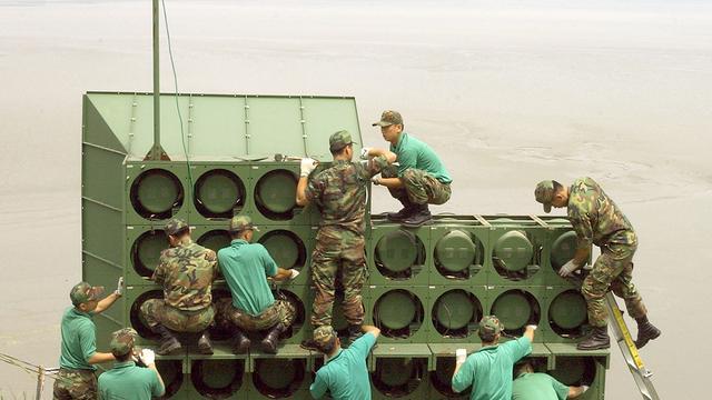 Ook Noord-Korea ontmantelt luidsprekers aan grens