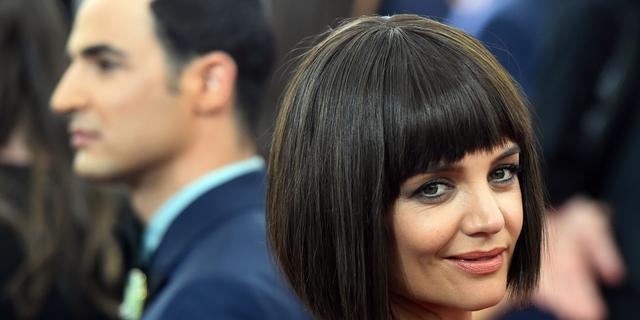 Katie Holmes vermijdt zware make-up