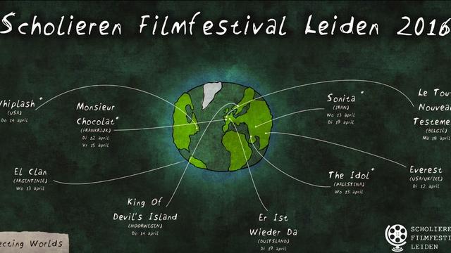 Wereldfilms tijdens het Scholieren Filmfestival Leiden