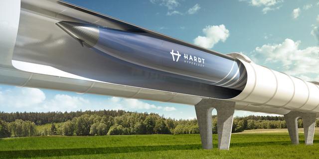 Onderzoek: Met hyperloop binnen half uur van Amsterdam naar Brussel