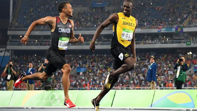 Bolt zeer verrast dat hij Gatlin niet tegenkomt in finale 200 meter