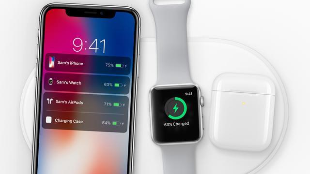 'Apple mikt op september voor lancering draadloosoplaadstation AirPower'