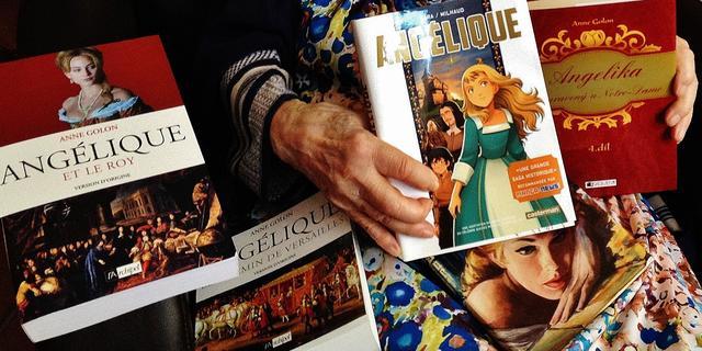 Schrijfster boekenreeks Angelique overleden