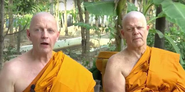 Emile Ratelband zegt zich tot het boeddhisme te hebben bekeerd