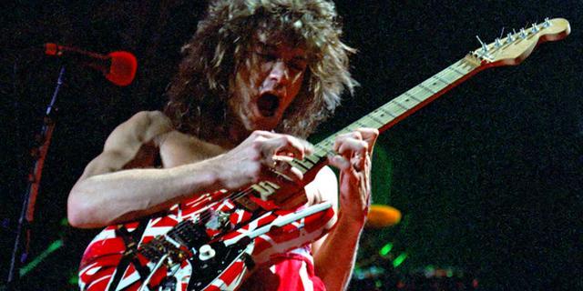 Gitaren Eddie van Halen, Kurt Cobain en Bob Marley brengen ruim 7 ton op