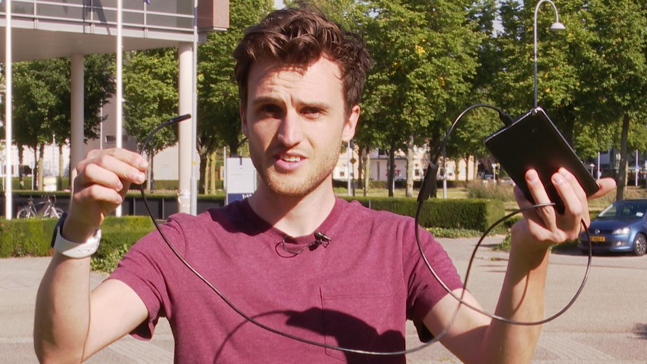 Prul of Praal?: Camera aan een slangetje voor 5 euro