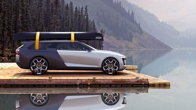 Stagiair tekent Volkswagen Varok Concept