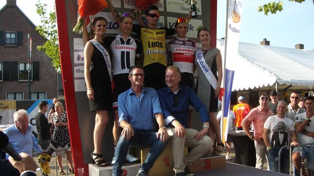 Primoz Roglic wint Profronde van Zevenbergen