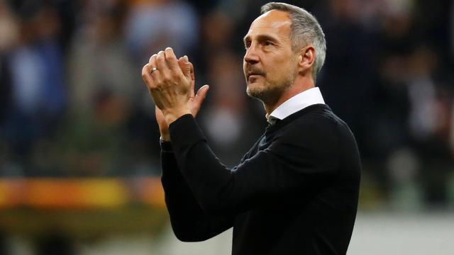 Trainer Hütter vergelijkt Europese prestaties Frankfurt met die van Ajax