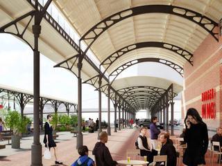 Maar aan het monumentale stationsgebouw wordt niet gemorreld