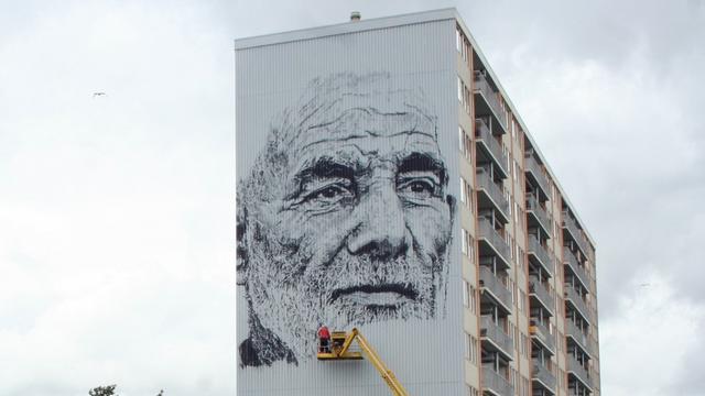 'Kunstenaars Mural Goes zijn niveau van straatkunst ontstegen'