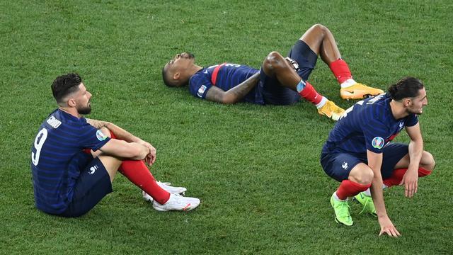 De teleurstelling bij de Fransen is groot.
