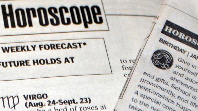 'Horoscopen in bladen werken als reclame voor consult bij astroloog'