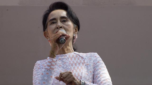 Partij van Aung San Suu Kyi claimt overwinning verkiezingen Myanmar
