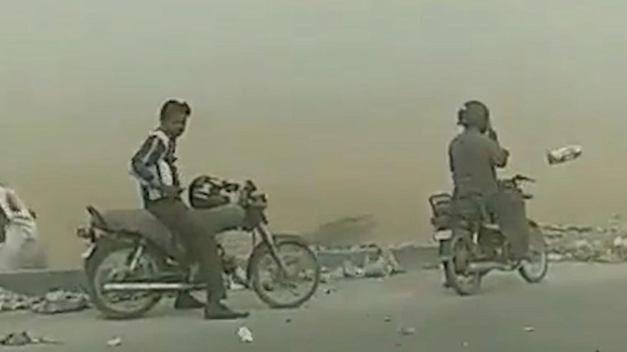 Hevige zandstorm zorgt voor chaos in Pakistan