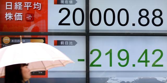 Nikkei sluit beursmaand 0,2 procent lager af