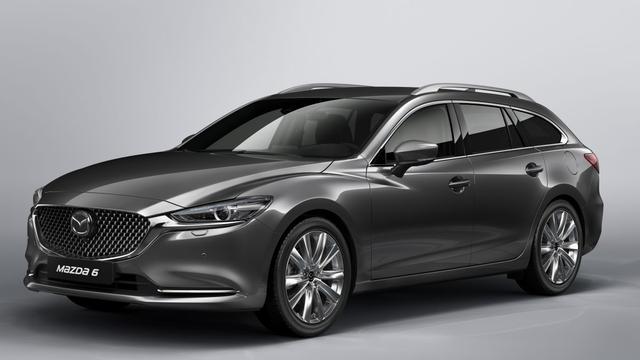 Mazda presenteert vernieuwde 6 Sportbreak in Genève