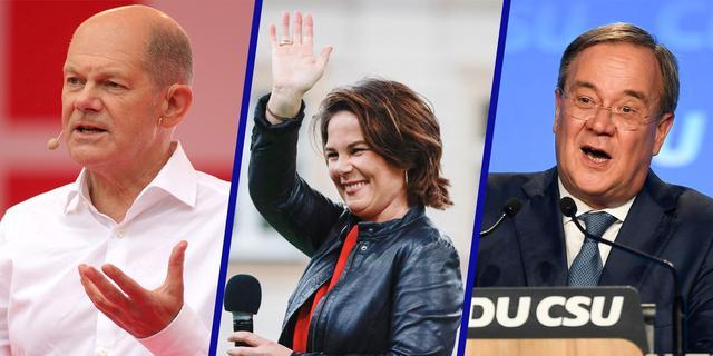 De drie mogelijke opvolgers van de Duitse kanselier Angela Merkel op een rij