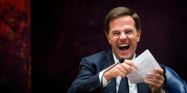 Rutte huurt komieken in voor toespraak op Correspondents' Dinner