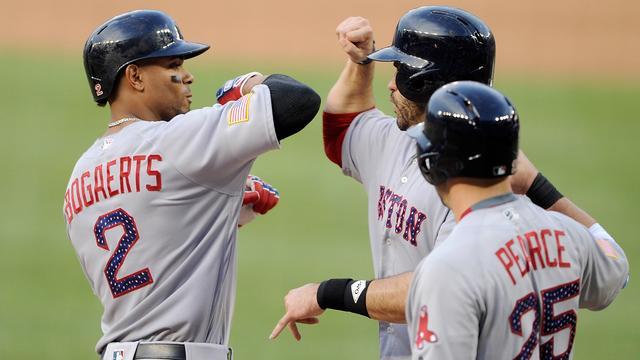 Honkballer Bogaerts wint met Red Sox oostelijke divisie American League