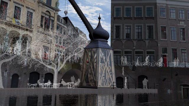 Stadskraan niet mogelijk op historische locatie