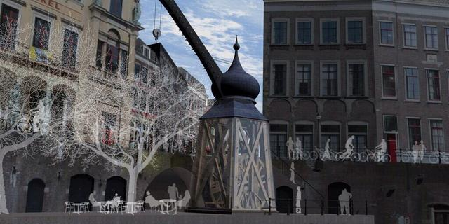 Plateau Monicabrug serieuze optie voor herbouw historische stadskraan