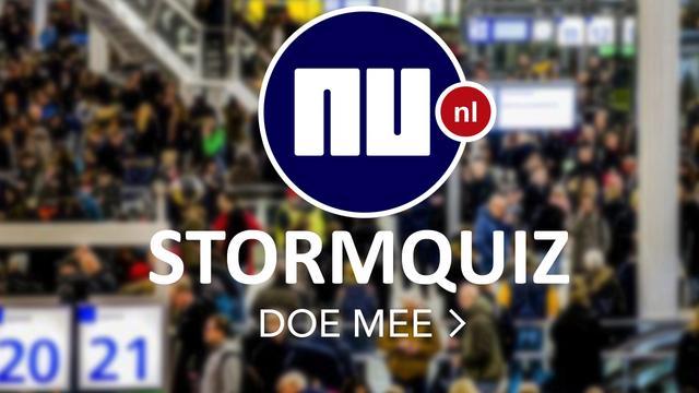 Test je kennis van de westerstorm in de NU.nl nieuwsquiz