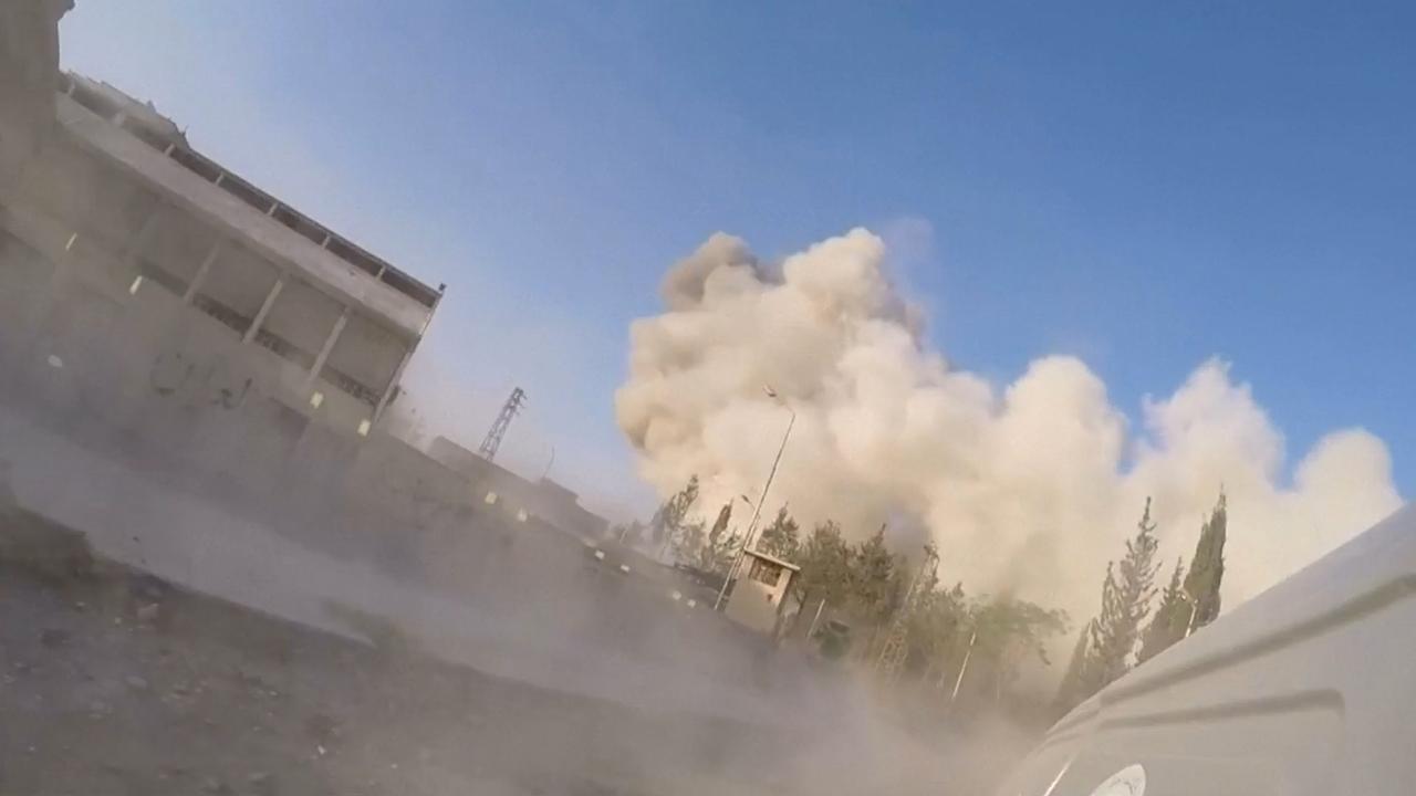 Syrische troepen bombarderen rebellenenclave Oost-Ghouta