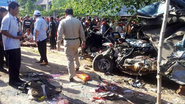 Doden bij busongeluk Cambodja