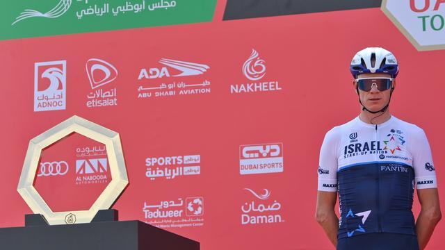 Chris Froome staat na twee etappes 88e in het klassement van de Ronde van de VAE.