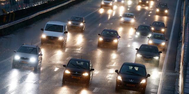 A20 bij Rotterdam weer open na ongeval