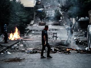 Turkije heeft zich lang buiten strijd in buurland Syrië gehouden