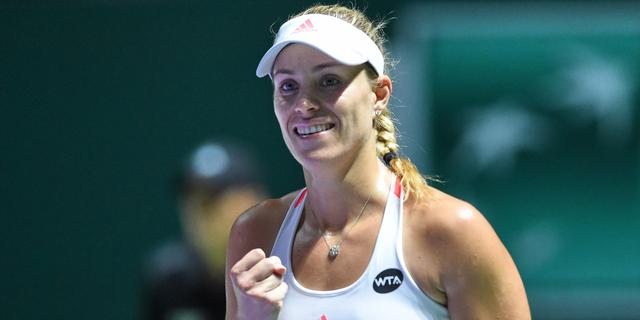 Kerber en Cibulkova bereiken finale van WTA Finals