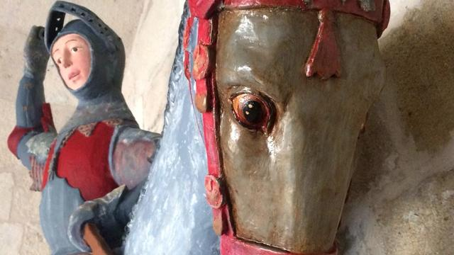 Beeld Sint-Joris in Spanje 'verpest' door restauratie