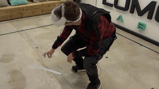 Nederlands VR-pak laat je 'vrij' in spel bewegen