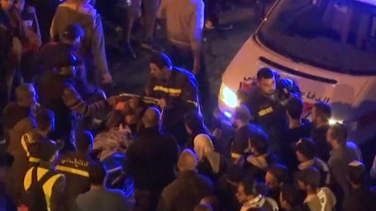 Man steekt zichzelf in brand tijdens demonstratie in Beiroet