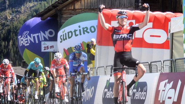 Dagzege Dennis in Ronde van de Alpen, Pinot nieuwe leider
