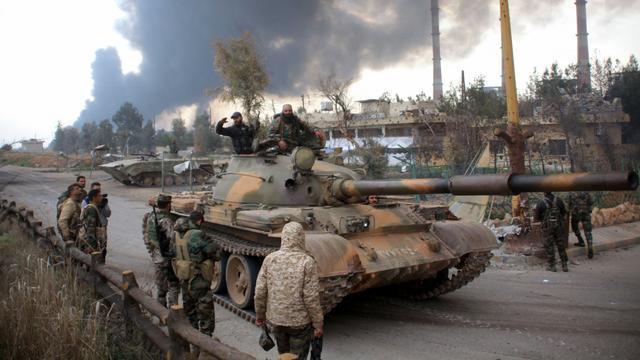 'IS herovert aantal dorpen bij Aleppo van Syrische troepen'
