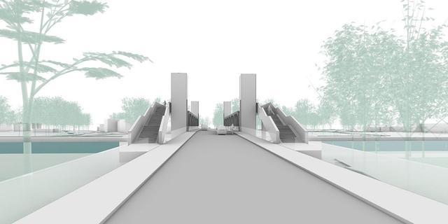 Nieuwe Gerrit Krolbrug wordt 4,5 meter hoog, brug gaat 30 procent minder open