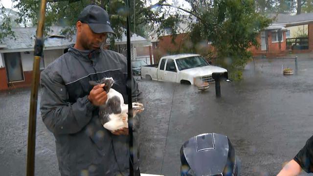Florence zwakt verder af, gevaar overstromingen aan oostkust VS blijft groot