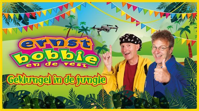 Bezoek Ernst, Bobbie en de Rest met 'Geklungel in de jungle' vanaf 13,50 euro