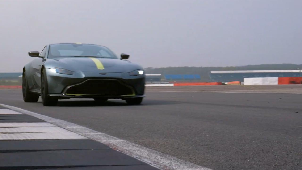 Aston Martin toont beelden van exclusieve Vantage AMR