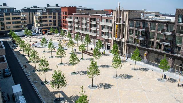 Duizenden mensen aanwezig bij opening Leidsche Rijn Centrum