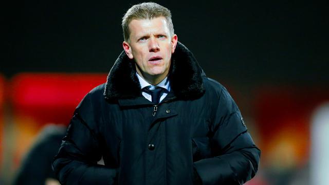Hekkensluiter Jong FC Utrecht ziet trainer Pronk na dit seizoen vertrekken