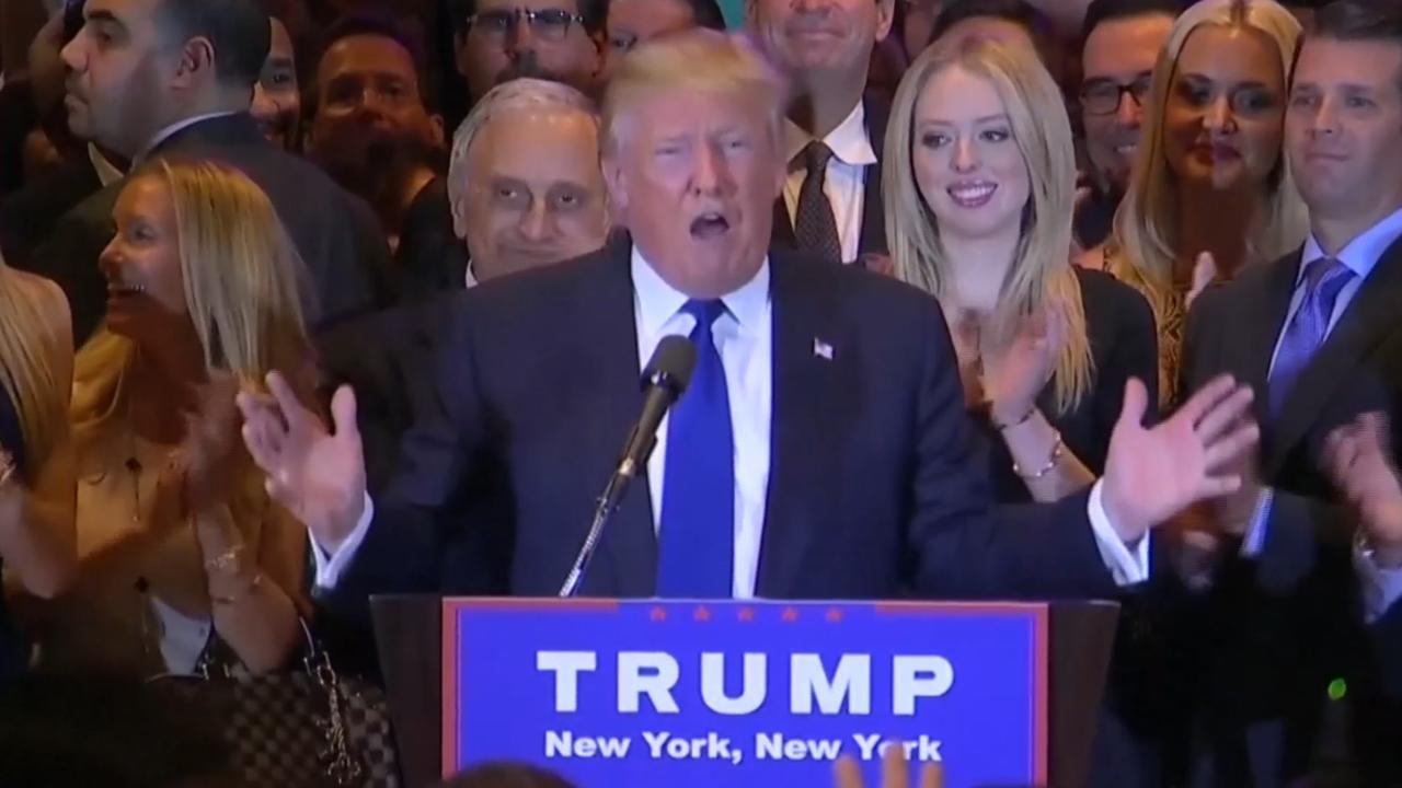 Trump en Clinton winnen belangrijke voorverkiezing New York