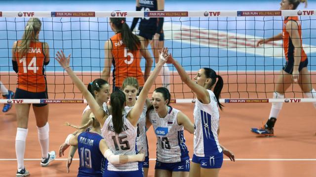 Volleybalsters na verlies tegen Rusland veroordeeld tot tweede OKT